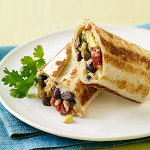 Crispy Bean &amp; Cheese Burritos