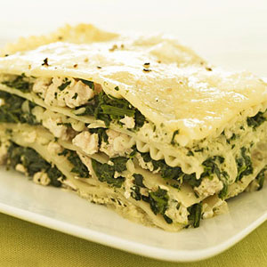Chicken and Pesto Lasagna