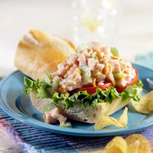 Smoked Turkey Salad Sandwich