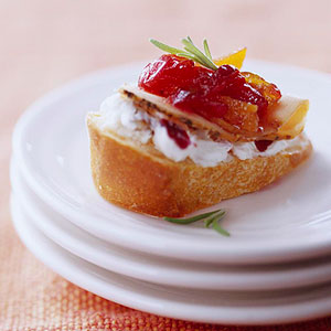Double Cranberry Crostini