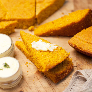 Make-Ahead Pumpkin Corn Bread