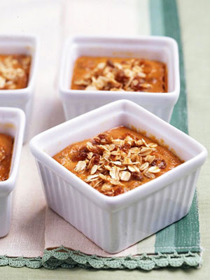 Pumpkin-Bourbon Pudding