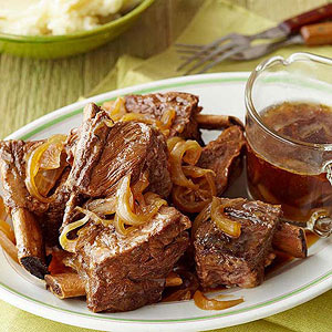 Beer-Braised Beef Short Ribs