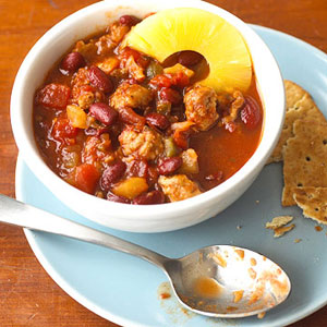Pineapple Pork Chili