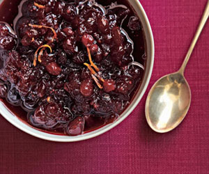Cranberry sauce
