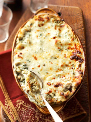 Creamy Artichoke Lasagna