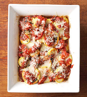 Squash and Tomato Bake