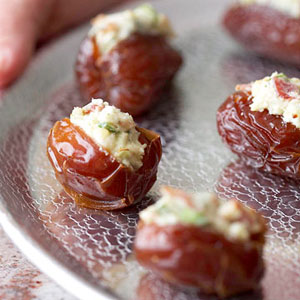 Bacon and Cheese-Stuffed Dates