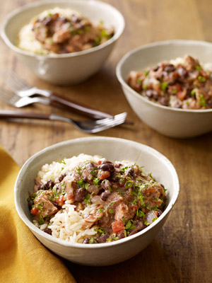 Black Beans and Pork
