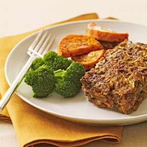 Individual Sweet & Savory Meat Loaf
