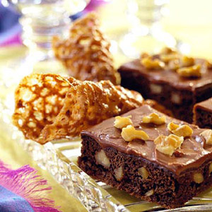 Irish Coffee Brownies