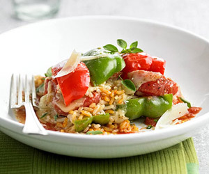 Rice and Sweet Pepper Bowl