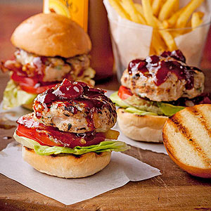 BLT Chicken Sliders
