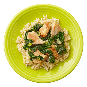 Pork and Spinach Stir-Fry