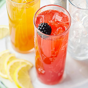 Sparkling Berry Lemonade