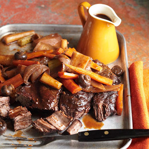 Wine-Marinated Pot Roast