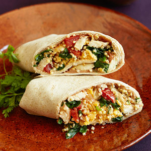 Chicken & Millet Burrito