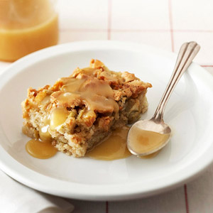 Rosemary Ward's Apple Cake with Butter Rum Sauce
