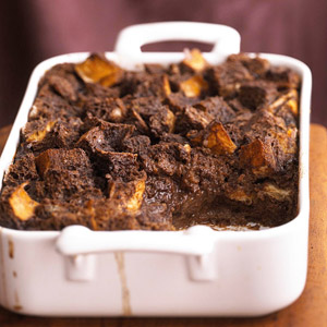 Orange-Chocolate Bread Pudding