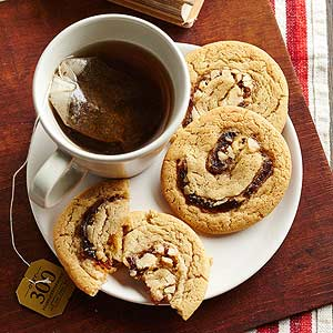 Recipes Course Desserts Cookies and Bars Date Nut Pinwheel Cookies