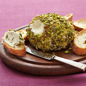 Goat Cheese-Pistachio Ball