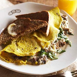 Morel Cream Sauce or Omelet Filling
