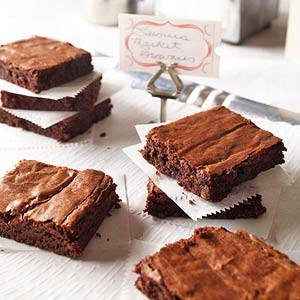 Farmers' Market Brownies