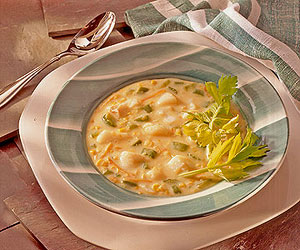 Fish and Corn Chowder