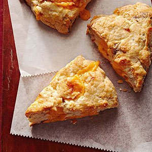 Bacon-Cheddar-Chive Scones