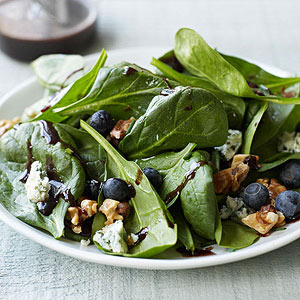 Blueberry?Blue Cheese Salad