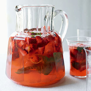 Strawberry-Basil Lemonade