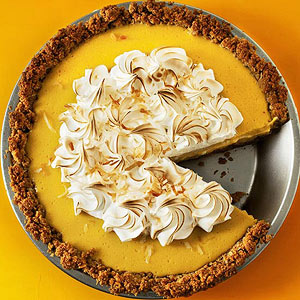 Coconut-Mango Pie