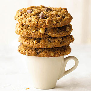 Espresso-Nut Drop Cookies