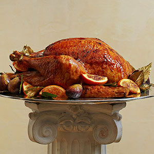 Extremely Impressive Brown Sugar-Glazed Turkey