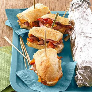 Chicken, Bacon, and Cheddar Submarines