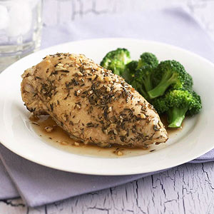 Thyme and Garlic Chicken