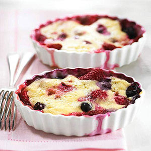 Berry Pudding Cake