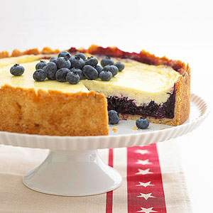 Blueberry-Sour Cream Dessert