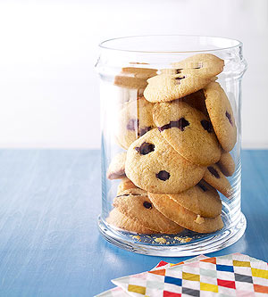 Gluten-Free Blueberry Cornmeal Cookies