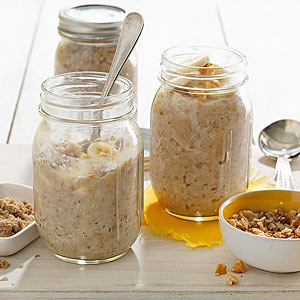 Banana-Nut Oatmeal