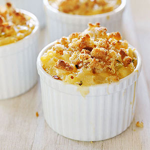 Individual mac and cheese