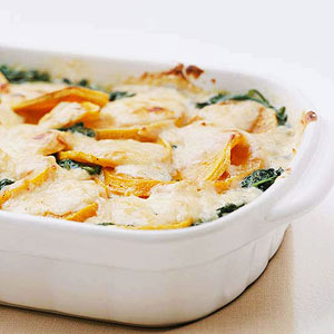 Make Ahead Butternut Squash Gratin