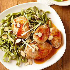 Hoisin-Glazed Turkey Medallions