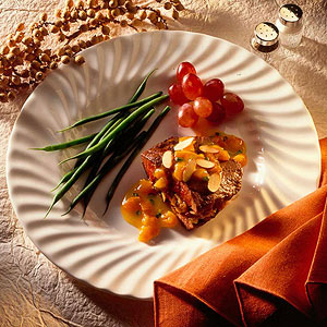 Apricot-and-Almond-Stuffed Steak