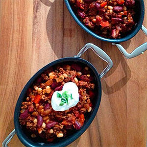 Turkey & Two Bean Chili