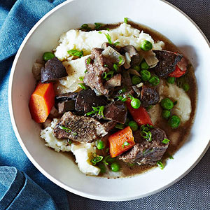 Potato-Topped Beef Stew