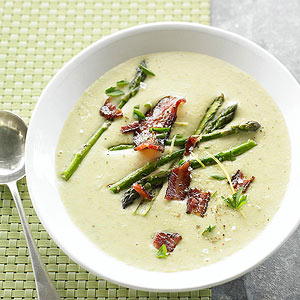 Creamy Potato and Asparagus Soup