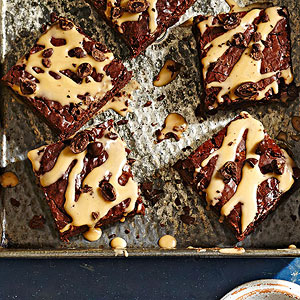 Triple Coffee Brownies