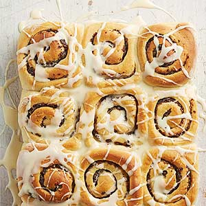 Citrus-Fig Sweet Rolls