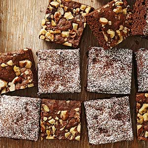 Chia Fudgy Brownies